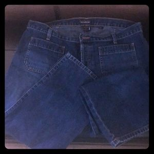 Crop jeans - button fly